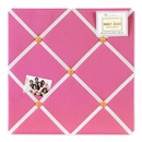 Pink and Orange Butterfly Collection Fabric Memo Board