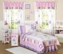 Pink and Purple Butterfly Kids  Bedding - 3 Piece Full/Queen Set