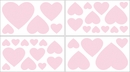 Pink Chenille Collection Wall Decals by Sweet Jojo Designs