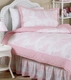 Pink French Toile Kids Bedding - 3 Piece Full/Queen Set