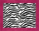 Pink Zebra Accent Floor Rug by Sweet Jojo Designs