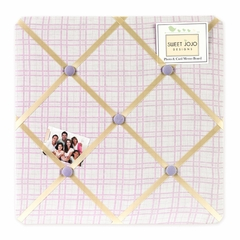 Pony Collection Plaid Fabric Memo Board