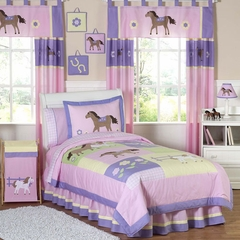 Pony Western Kids Bedding - 3 Piece Full/Queen Set