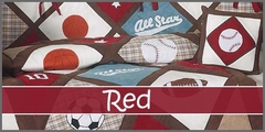 Red Baby Bedding