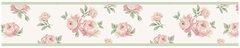 Riley's Roses Shabby Chic Wall Paper Border by Sweet Jojo Designs