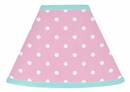 Skylar Pink and Turquoise Lamp Shade