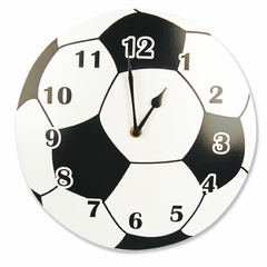 Soccer Ball Wall Clock by Trend Lab
