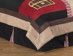 Treasure Cove Pirate Queen Bed Skirt by Sweet Jojo Designs