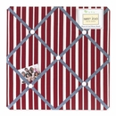 Vintage Aviator Collection Fabric Memo Board