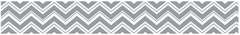 Chevron Wallpaper Border Zig Zag Gray and White by Sweet Jojo Designs