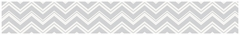 Zig Zag Chevron Turquoise, Gray and White Collection Wallpaper Border