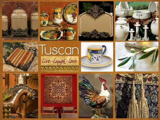 Cutalia international tuscan decor french country ask for Tuscan home decor