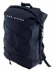 30L Roll-Top Waterproof Backpack - Black