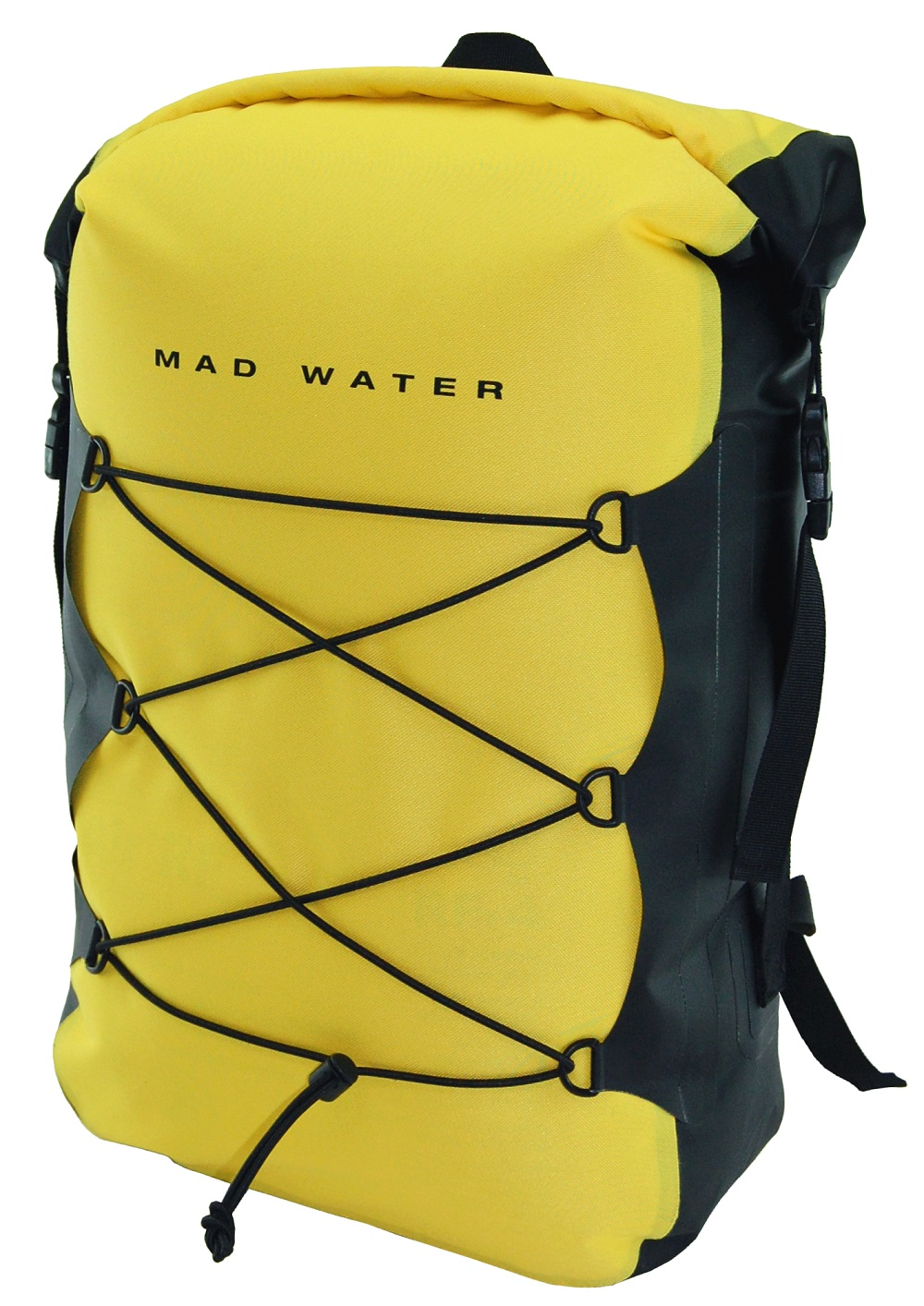 30L Classic Roll-Top Waterproof Backpack - Yellow