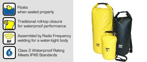 Roll-Top Dry Bags