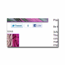 Twitter, Facebook Like, Pinterest and Google +1 buttons for Yahoo Stores