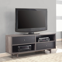 700795 TV Console in Black and Gray by Coaster Furniture