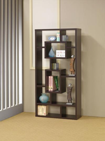 800259 Cappuccino Book Shelf