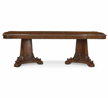 A.R.T. ART Old World Double Pedestal Dining Table Base
