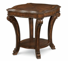 A.R.T. ART Old World Rectangular End Table