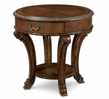 A.R.T. ART Old World Round End Table
