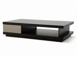 A&X Caligari Modern Oak & Grey Gloss Coffee Table