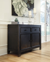 Ashley Furniture Accent Cabinet, Black