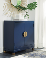 Ashley Express Furniture - Walentin - A4000064 - Accent Cabinet, Blue