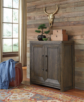 Ashley Furniture Accent Cabinet, Grayish Brown