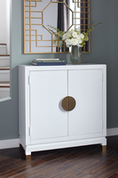 Ashley Express Furniture - Walentin - A4000065 - Accent Cabinet, White