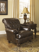 Ashley Furniture Accent Chair, Antique