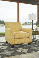 Ashley Furniture Accent Chair, Gold