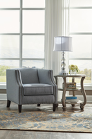 Ashley Furniture Accent Chair, Navy