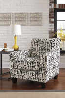 Ashley Furniture Accent Chair, Raven