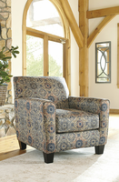 Ashley Furniture Accent Chair, Rust