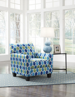 Ashley Furniture Accent Chair, Turquoise