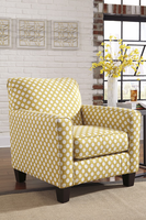 Ashley Furniture Accent Chair, Yellow