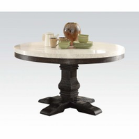 ACME NOLAN ROUND DINING TABLE
