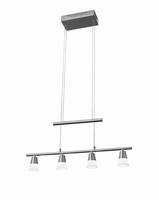 Adesso Aerial LED 4 Light Pendant