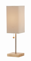 Adesso Angelina Table Lamp, Natural