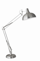 Adesso Atlas Floor Lamp, Steel