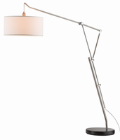 Adesso Brisbane Arc Lamp