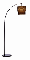 Adesso Gala Arc Lamp, Black