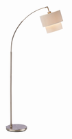 Adesso Gala Arc Lamp, Natural