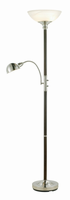Adesso Lexington Combo Tall Floor Lamp