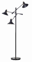 Adesso Nelson 3 Arm Floor Lamp