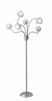 Adesso Pom Pom LED Floor Lamp