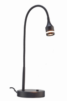 Adesso Prospect LED Desk Lamp, Black