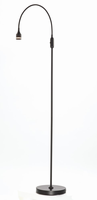 Adesso Prospect LED Floor Lamp, Black