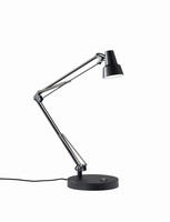Adesso Quest LED Desk Lamp, Black